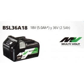 BATERÍA BSL36A18 18V 5A Y 36V 2.5A HIKOKI (HITACHI)
