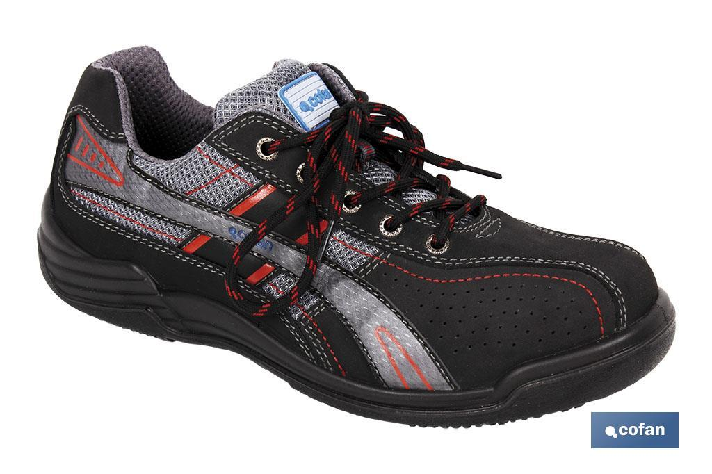 ZAPATO SPORT GRIS/NEGRO S1-P (MOD.TYRONE) T-46 (PACK: 1 UDS)