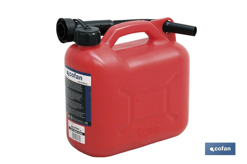 PETROL CANS 5 LTS. (PACK: 1 UDS)