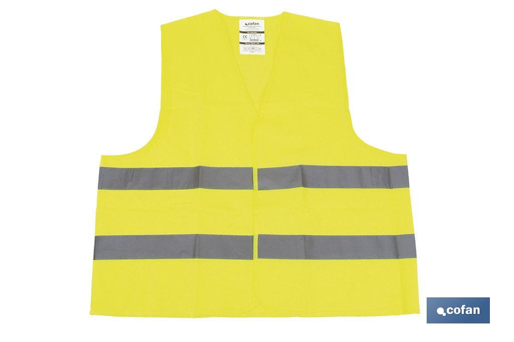 CHALECO REFLECTANTE AMARILLO (PACK: 1 UDS)