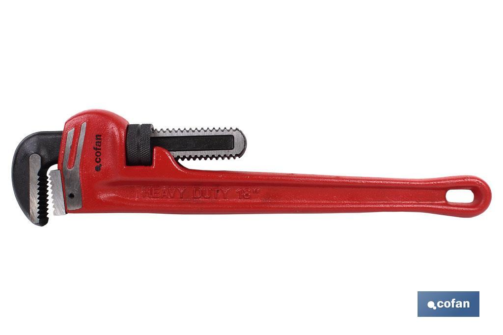 "LLAVE HEAVY DUTY PARA TUBO L-60"" (PACK: 1 UDS)"
