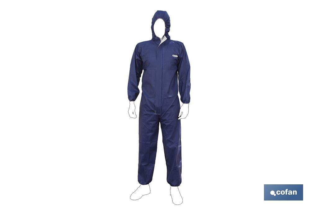 BUZO C/CAPUCHA TIPO 4, 5 Y 6 AZUL TALLA M (PACK: 1 UDS)