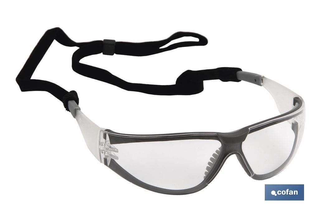 GAFAS SEGURIDAD ENVOLVENTE UV PROTECTION (PACK: 1 UDS)