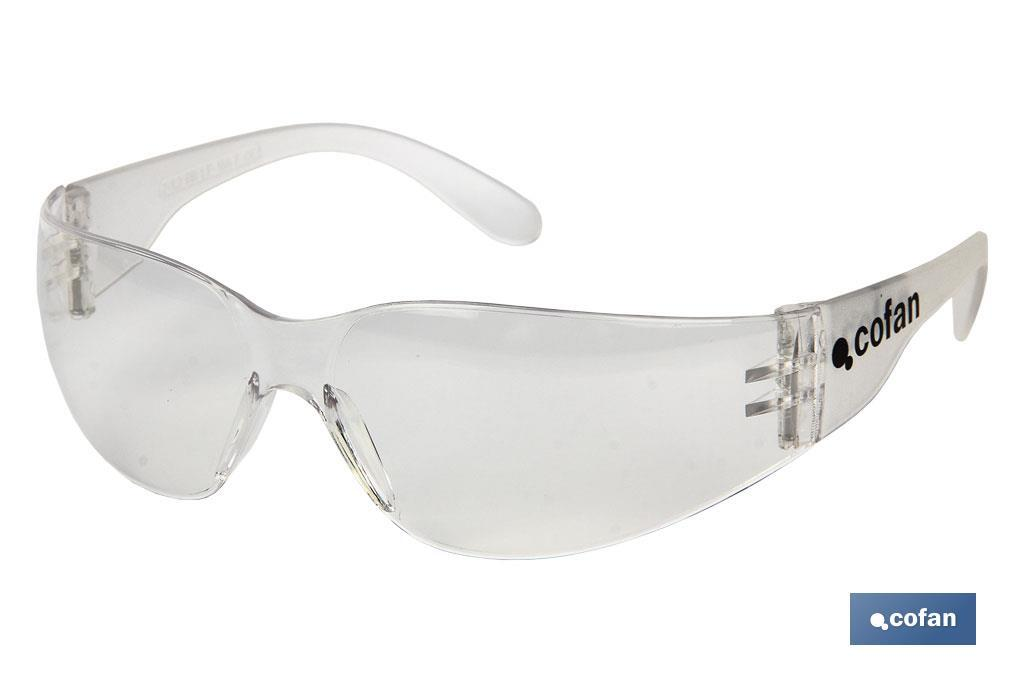 GAFAS SEGURIDAD UV PROTECTION (PACK: 1 UDS)