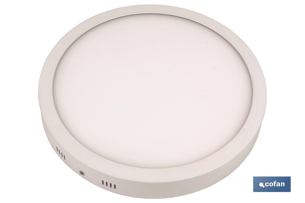 DOWNLIGHTS SUPERFICIE BLANCO 20W Ø200mm (PACK: 1 UDS)