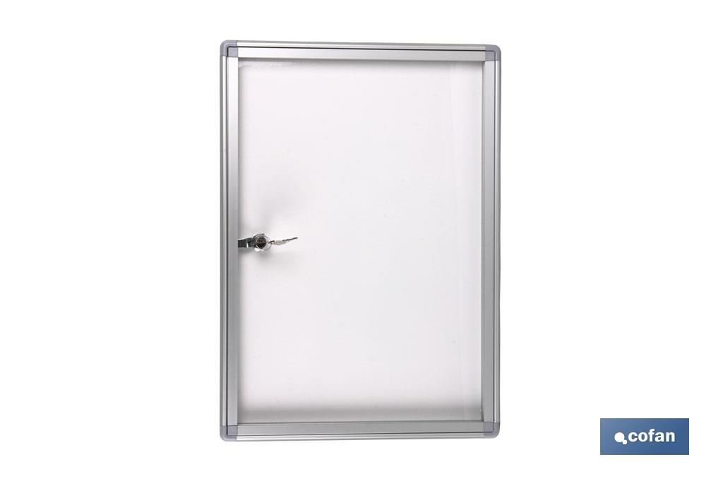 VITRINA MAGNETICA CIERRE(500X700MM) (PACK: 1 UDS)