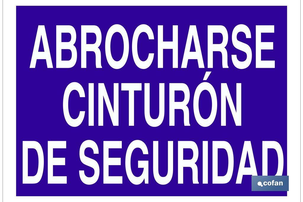ABROCHARSE CINTURÓN DE SEGURIDAD