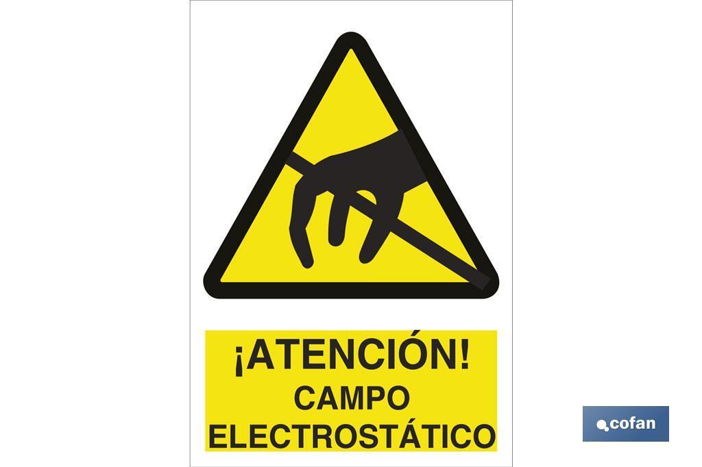 ¡ATENCIÓN! CAMPO ELECTROESTÁTICO