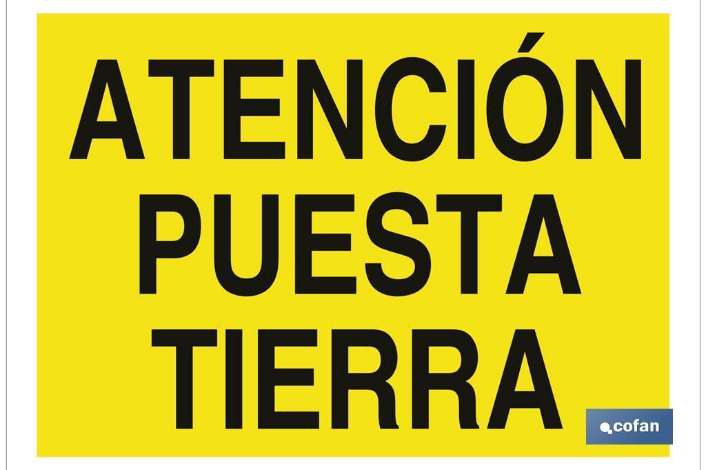 ATENCIÓN PUESTA TIERRA