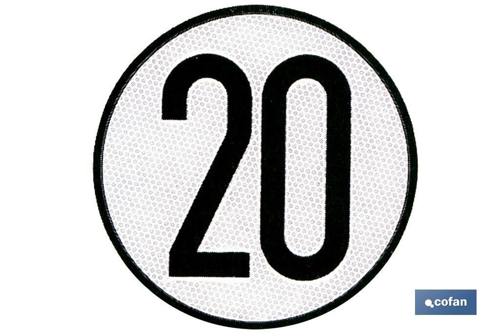 DISCO V-4 LIMITACIÓN VELOCIDAD (20 KM/H)