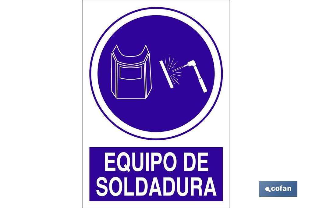 EQUIPO DE SOLDADURA