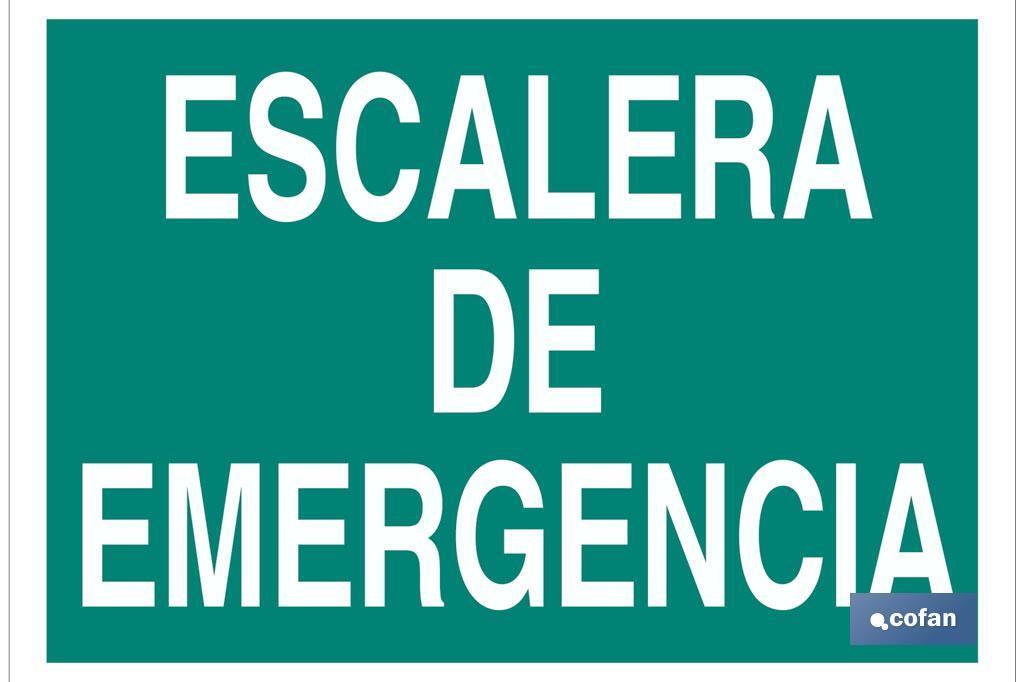 Escalera de Emergencia