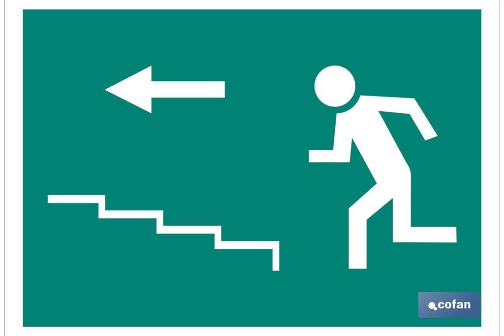 Salida Escalera izquierda Subida