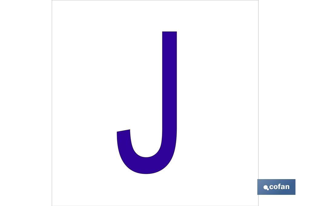 J LETRA EN GLASSPACK