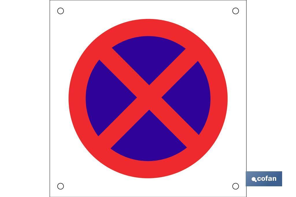 OB12 Prohibido parar/aparcar