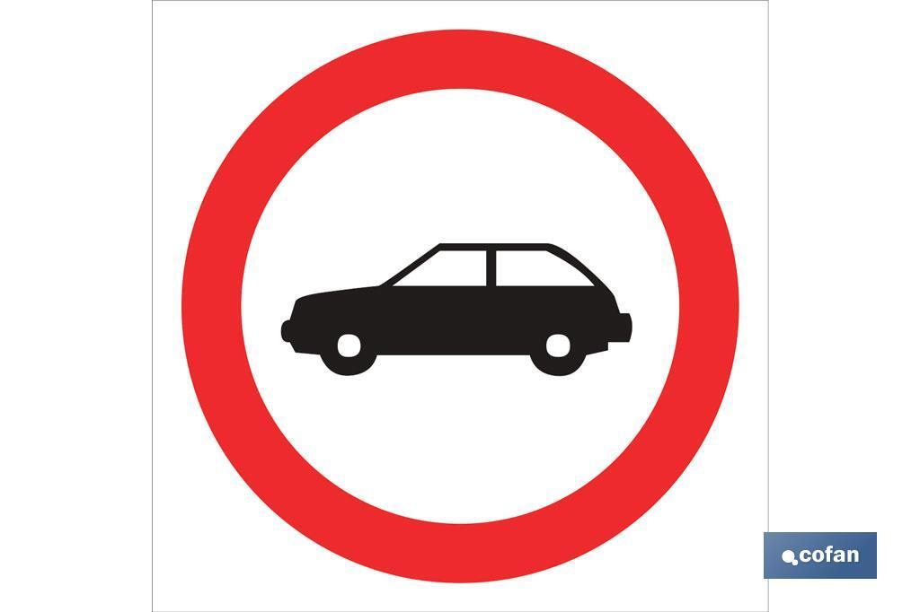 Prohibido coches