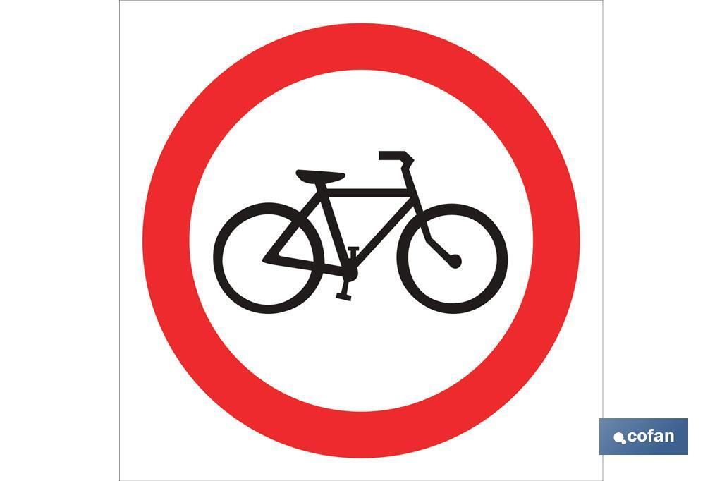 Prohibido Bicicletas