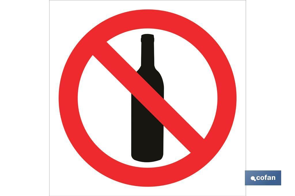 Prohibido botellas