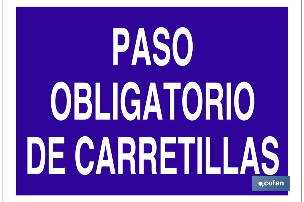 PASO OBLIGATORIO DE CARRETILLAS