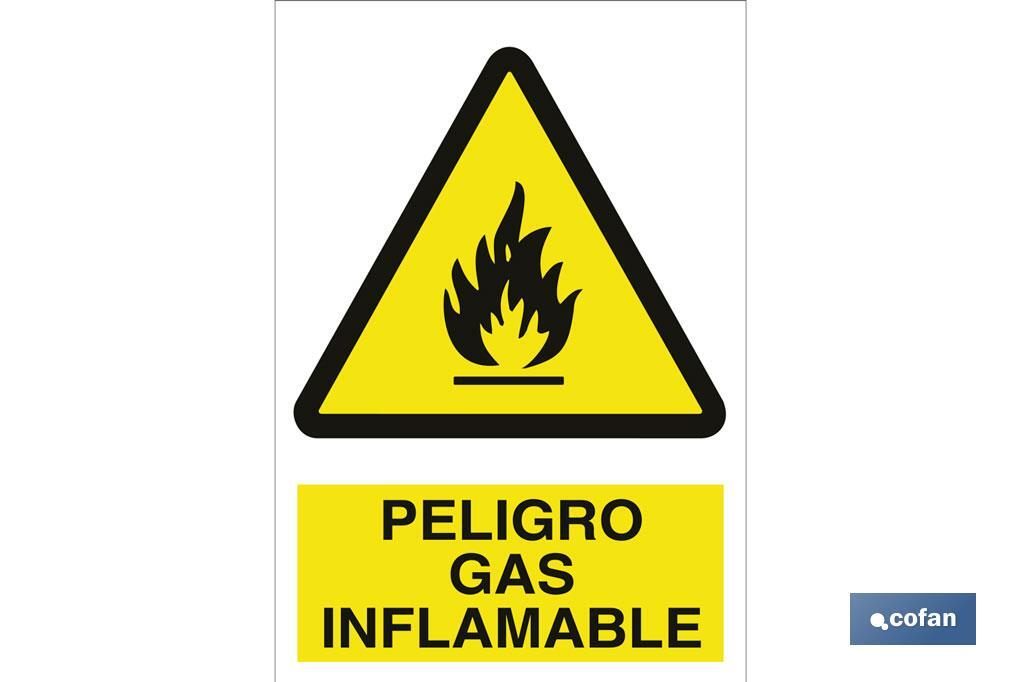 PELIGRO GAS INFLAMABLE