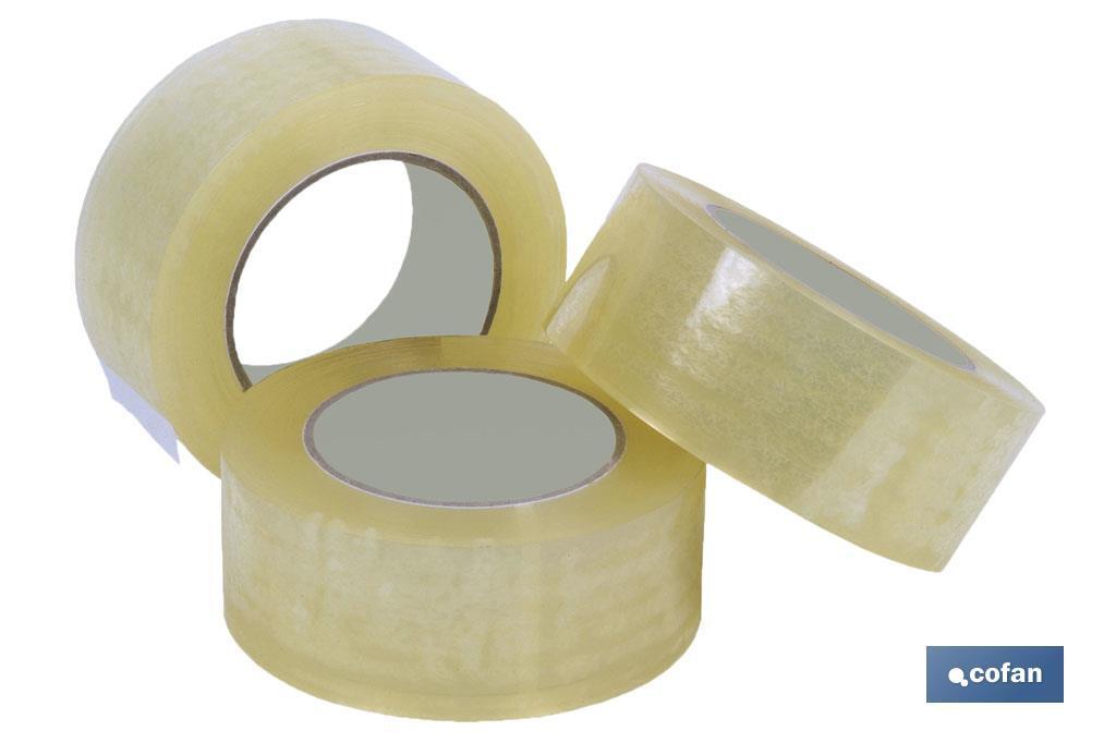 Precinto en rollo polipropileno transparente