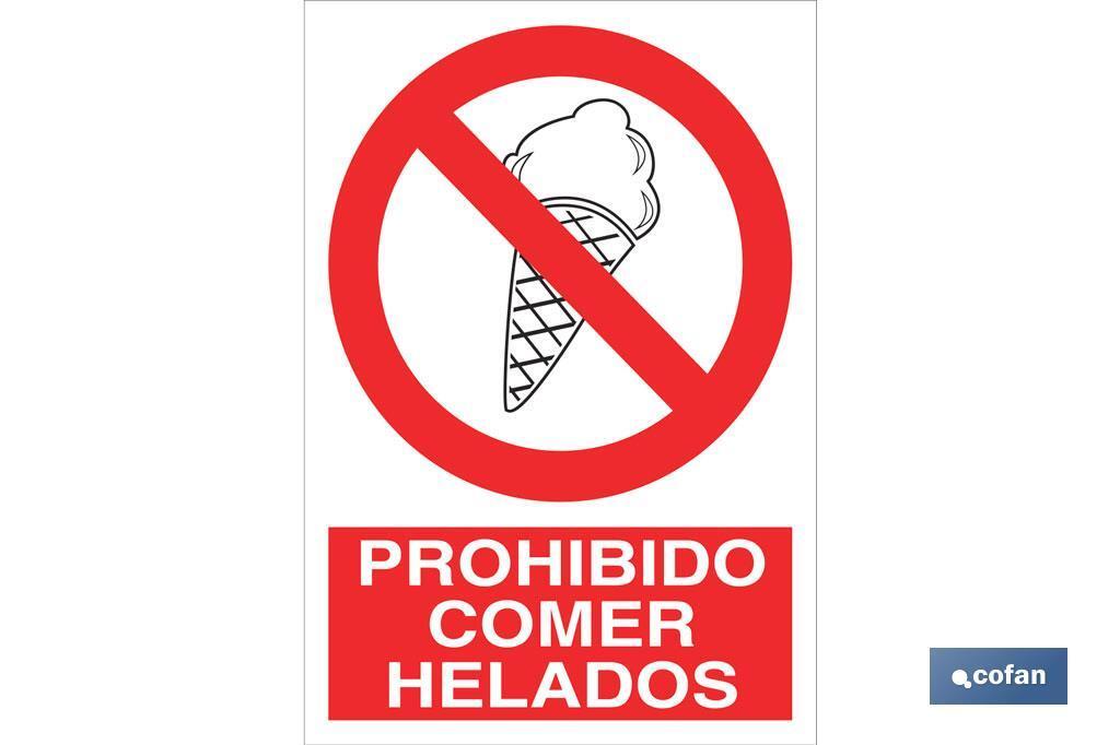 Prohibido comer helados