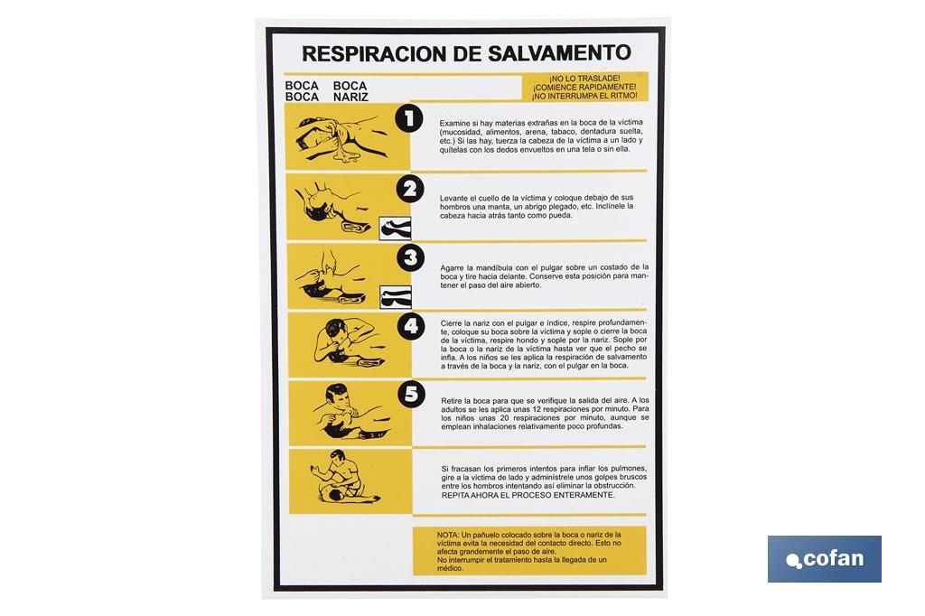 RESPIRACIÓN DE SALVAMENTO