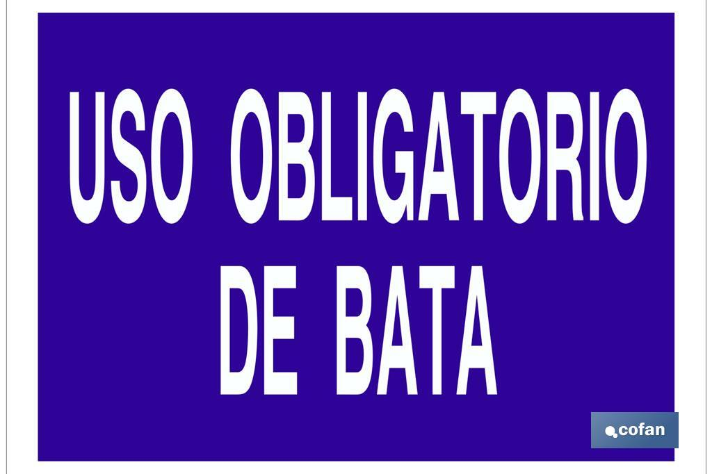 USO OBLIGATORIO DE BATA
