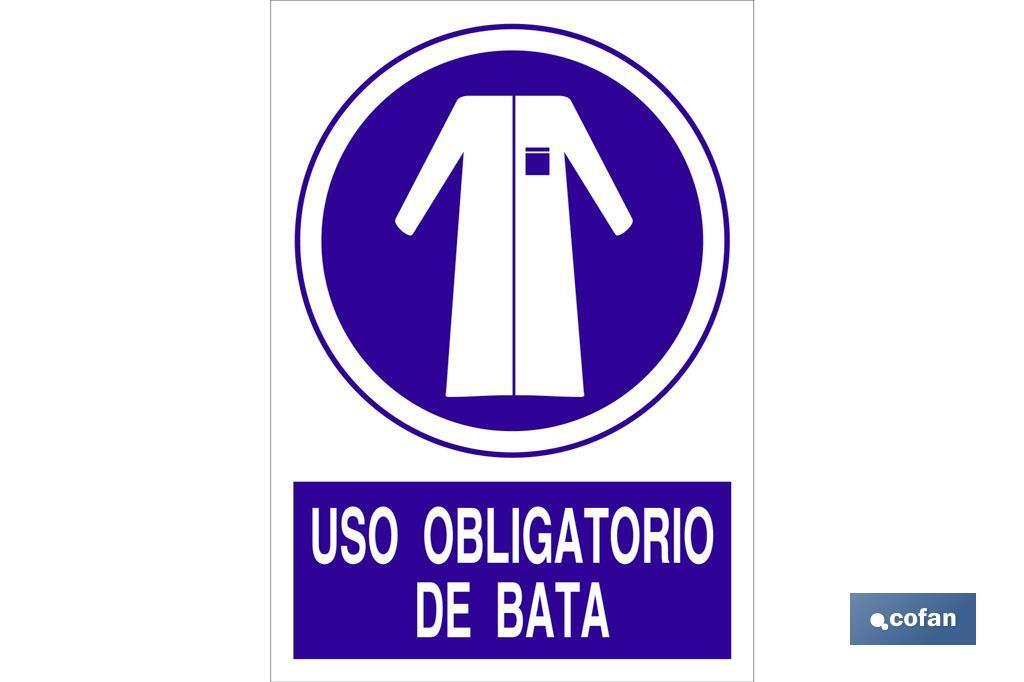 USO OBLIGATORIO DE LA BATA
