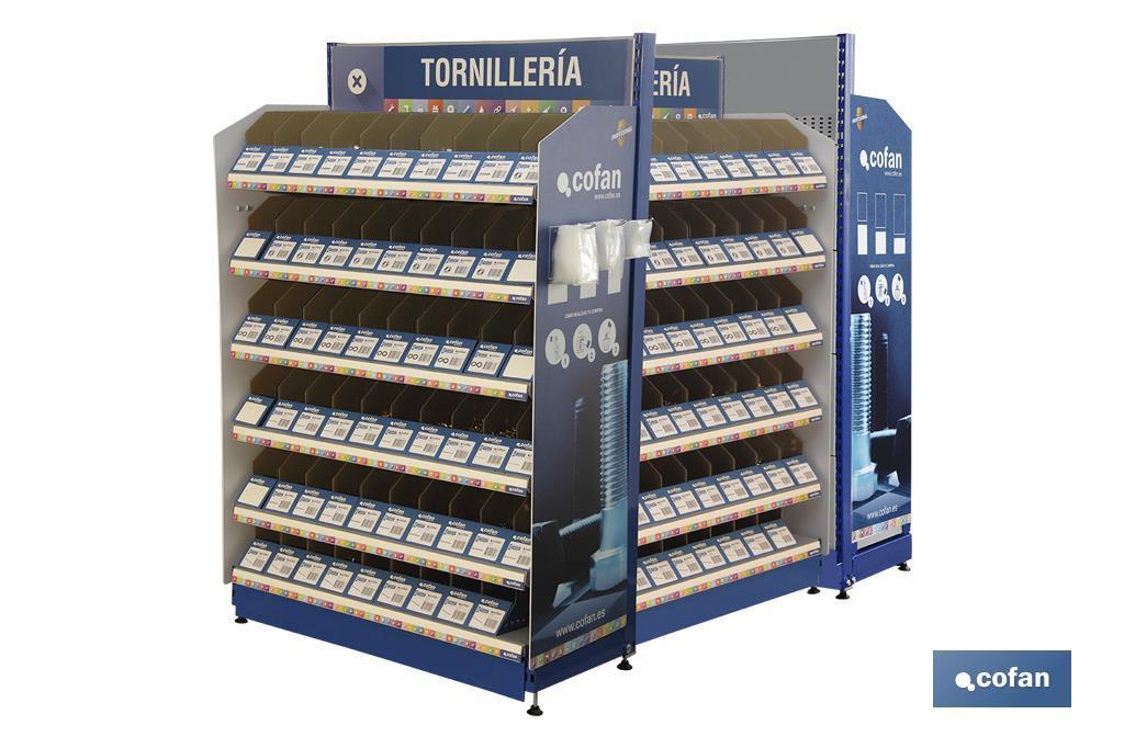 Expositor Tornillería Mod. 2 / 240 Gavetas