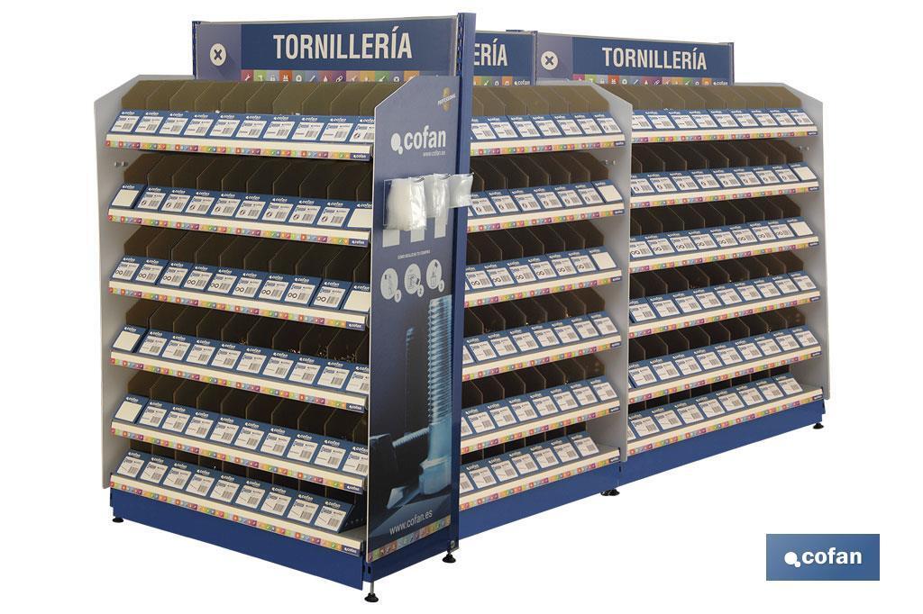 Expositor Tornillería Mod. 3 / 300 Gavetas