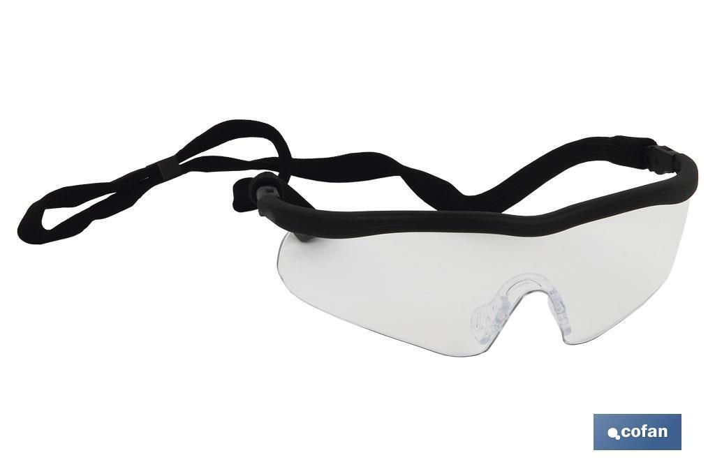 GAFA DE SEGURIDAD SPORT CLEAR UV PROTECTION
