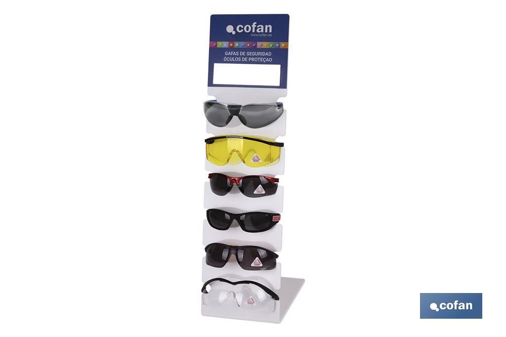 Expositor gafas anti impacto