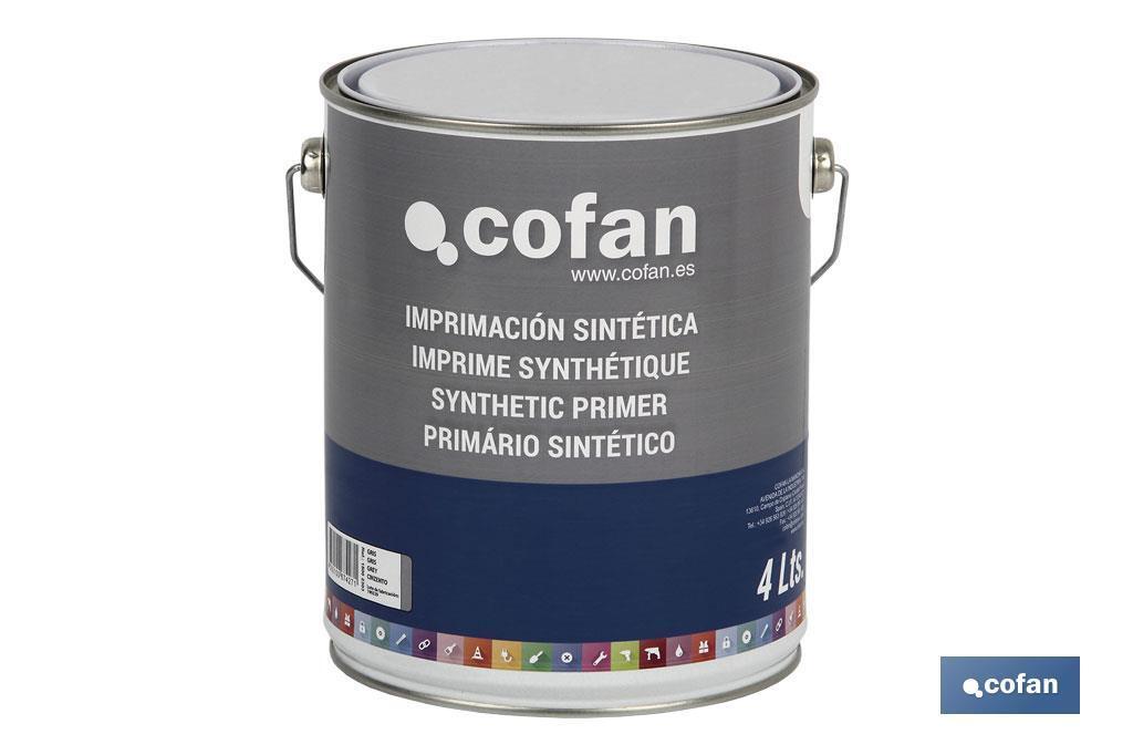 Imprimación Sintética en 750 ml y 4 litros.