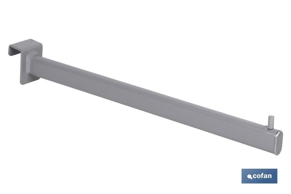 Percha recta ovalada de tubo (para barra de carga)