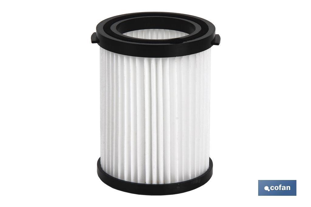 Filtro para aspirador a batería