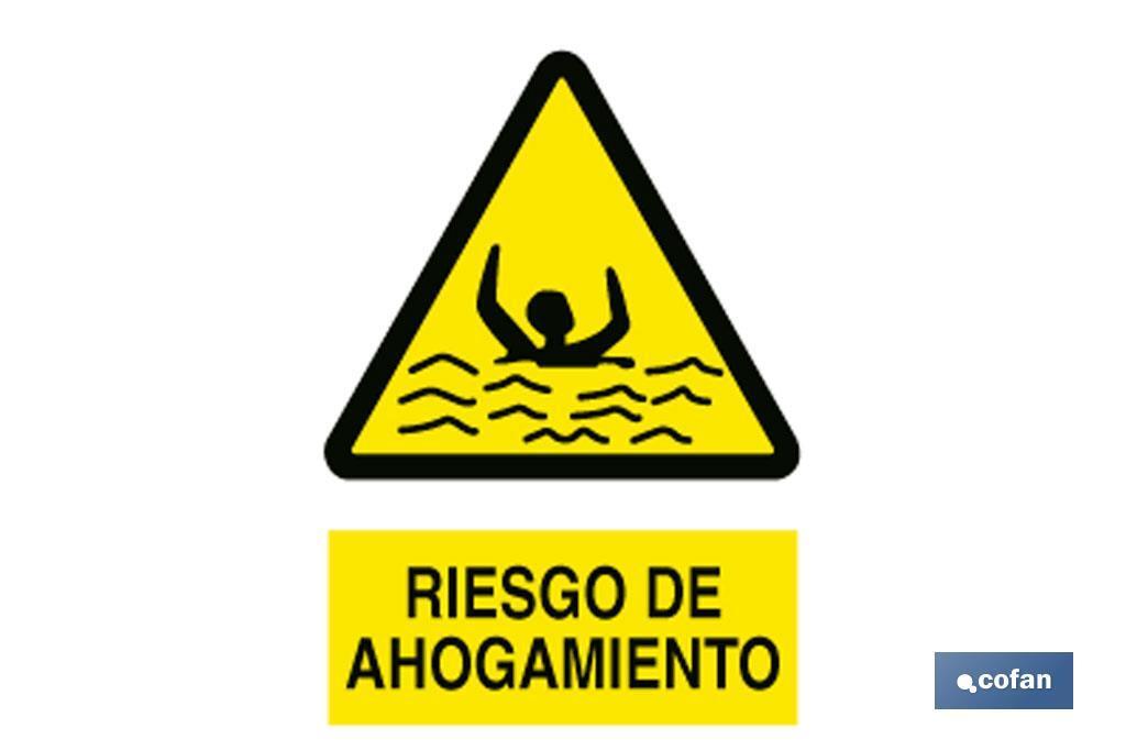 RIESGO DE AHOGAMIENTO