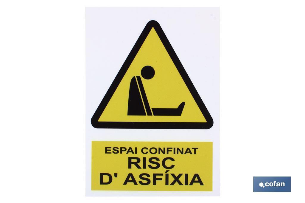 ESPAI CONFINAT RISC D'AXFIXIA