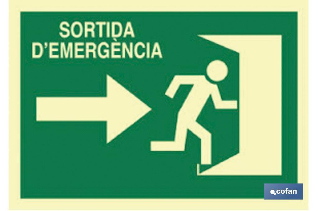 SORTIDA D'EMERGÈNCIA
