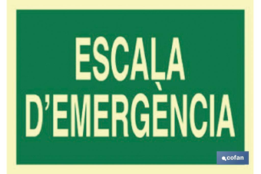 ESCALA D'EMERGÈNCIA