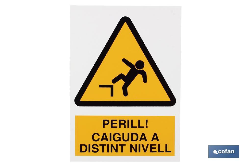 PERILL CAIGUDA DINTINT NIVELL
