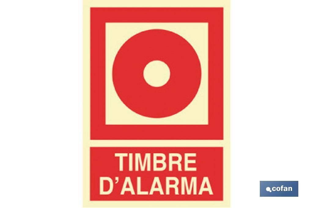 TIMBRE D'ALARMA