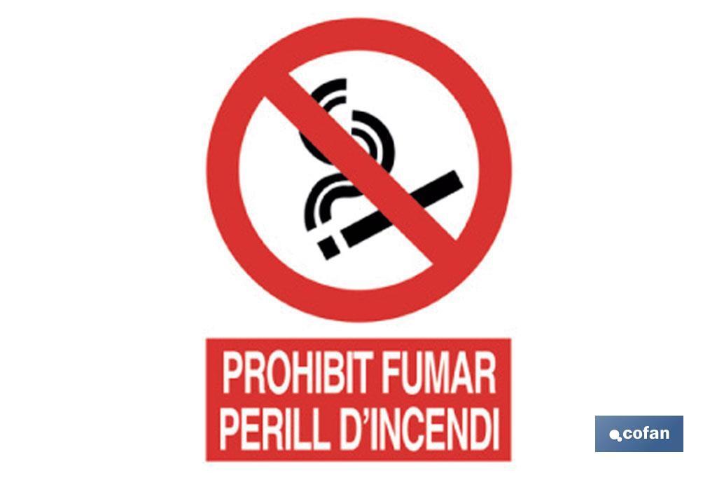 PROHIBIT FUMAR PERILL