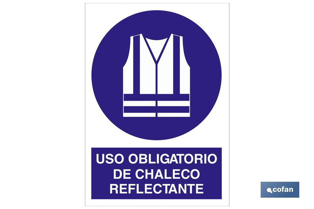 USO OBLIGATORIO DE CHALECO REFLECTANTE