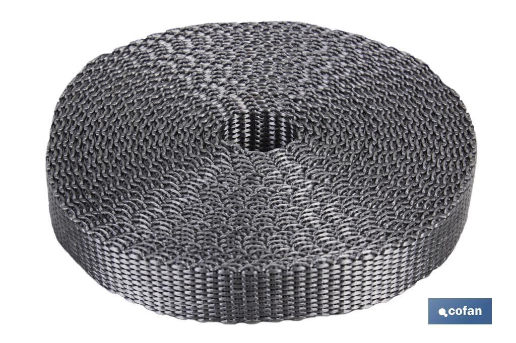 Blister cinta persiana 14mm x 5m (gris)